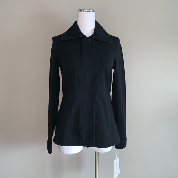 Carlisle Jackets & Blazers - NWT Carlisle Collection Per Se Black Jacket 4 6 8
